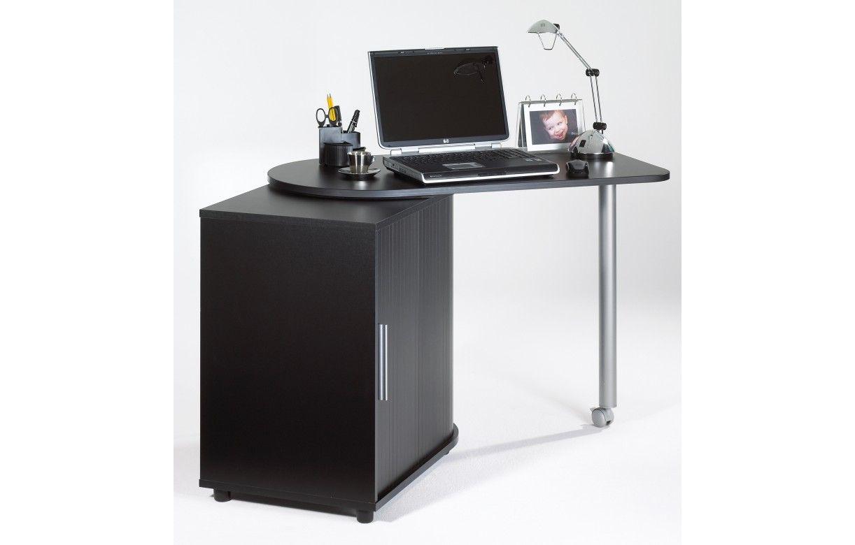 bureau informatique taupe pivotant 5 coloris decome store. Black Bedroom Furniture Sets. Home Design Ideas