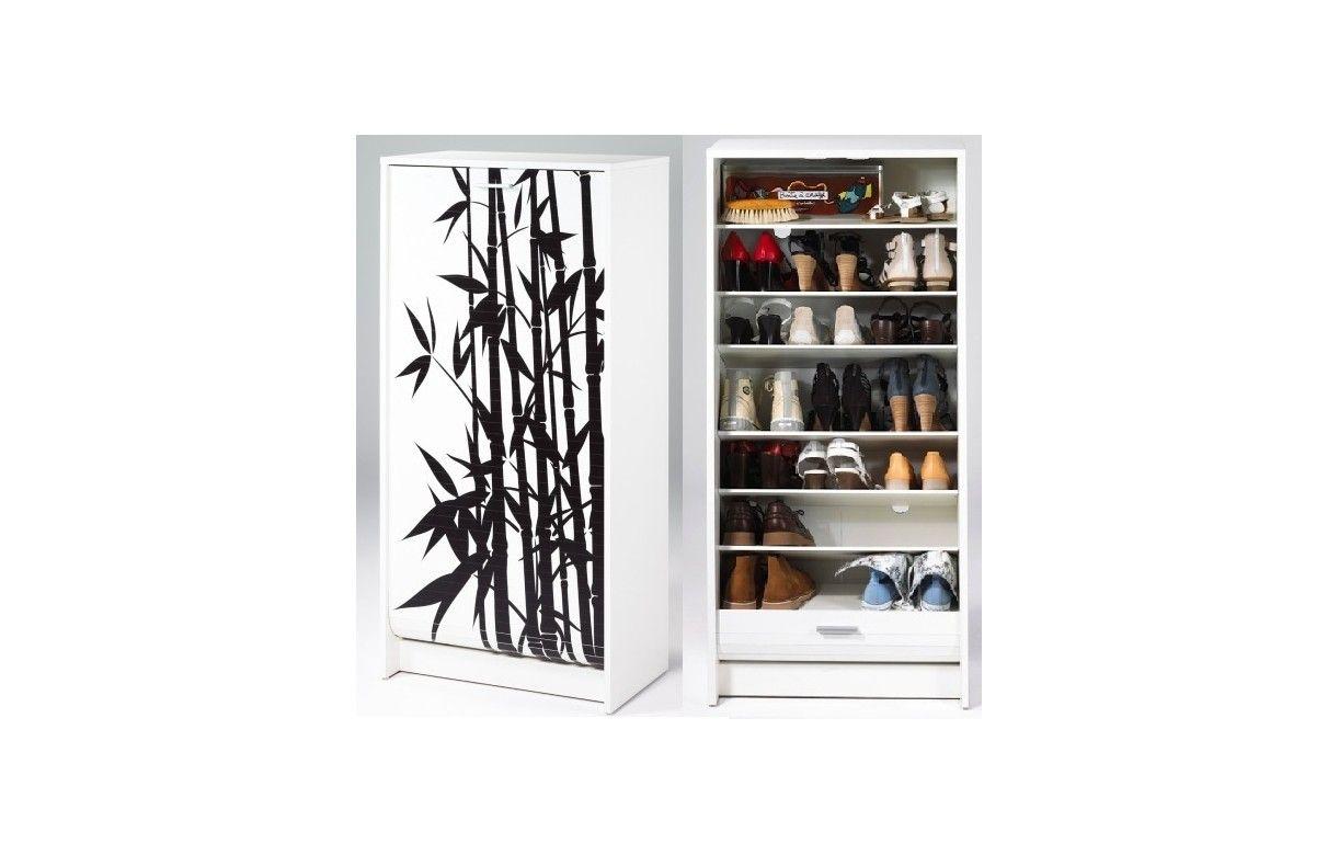 Salon Zen Bambou : ... blanc ou noir à rideau déroulant 20 paires ...