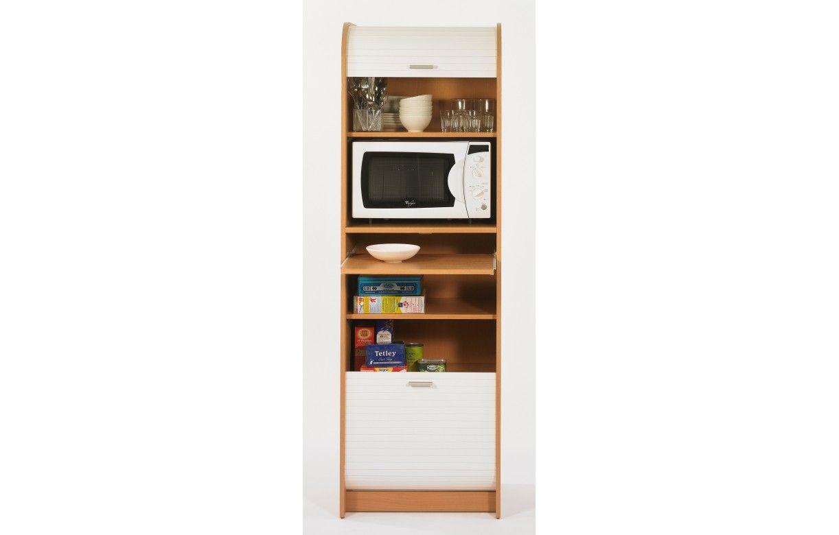 meuble rangement de cuisine complet pour micro onde. Black Bedroom Furniture Sets. Home Design Ideas