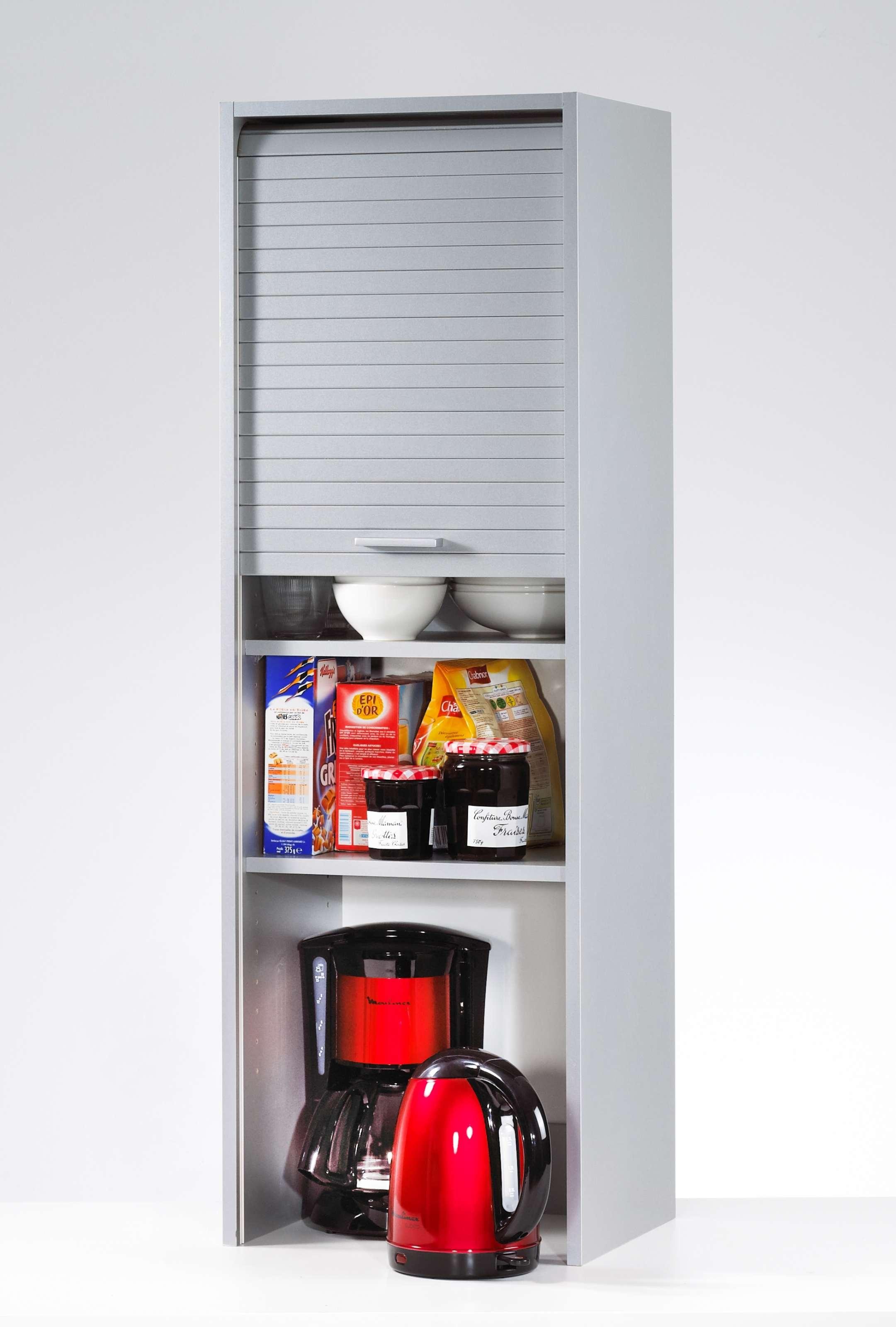 Rideau meuble cuisine alu for Meuble aluminium cuisine