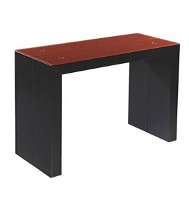 Meubles d 39 appoint decome store - Table console extensible noir ...