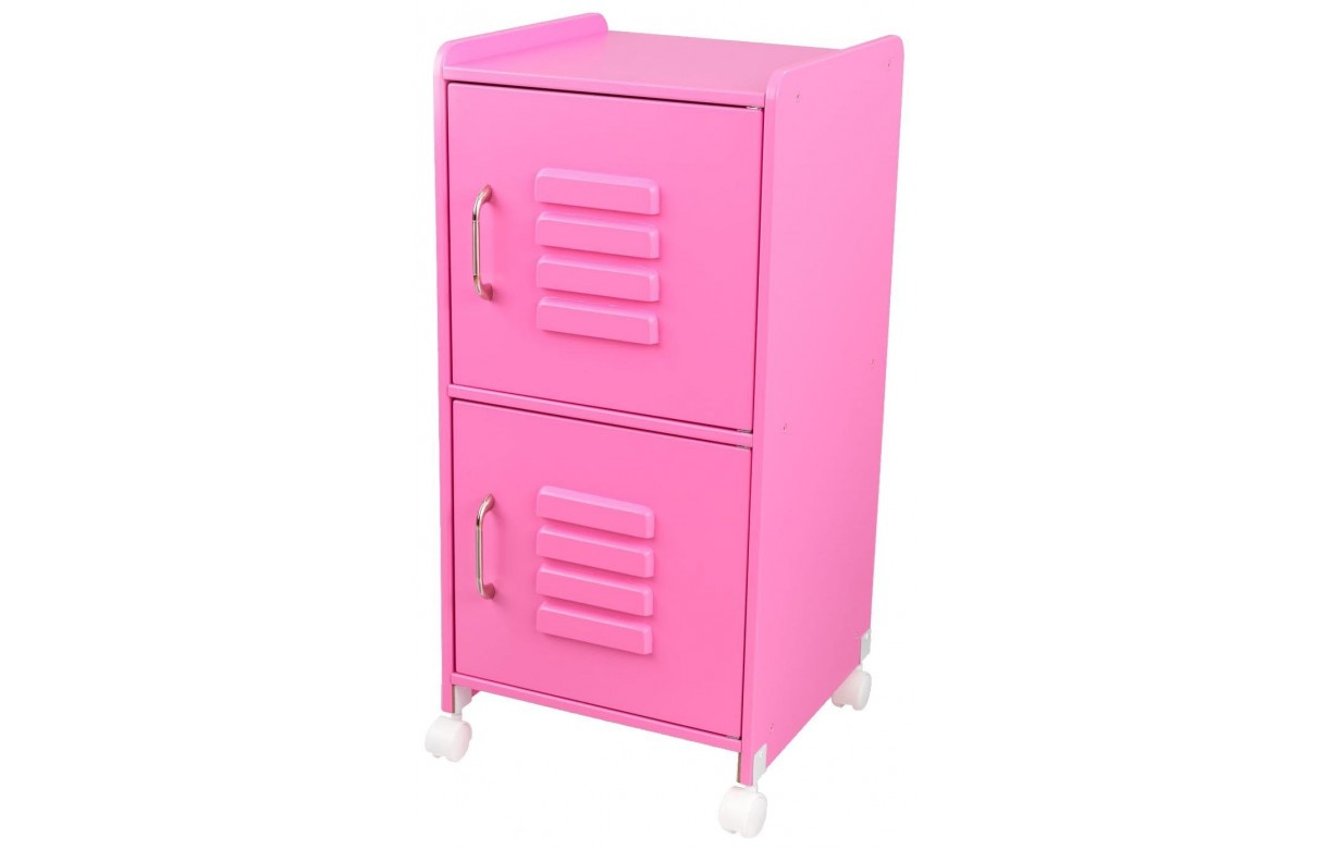 casier de rangement rose bonbon petite fille decome store. Black Bedroom Furniture Sets. Home Design Ideas