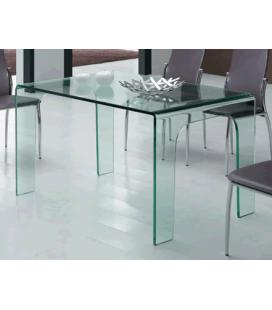 Table à manger en verre Burak