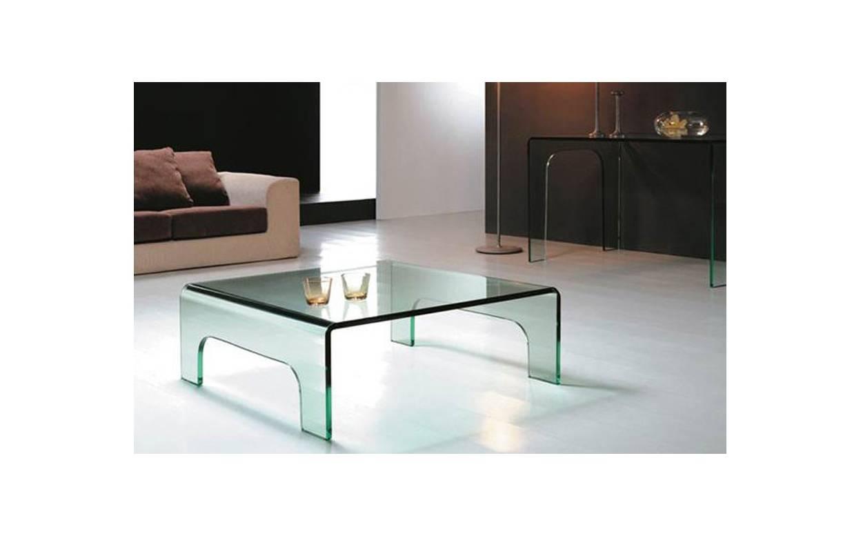 Table basse en verre design haut de gamme - Table en verre basse ...