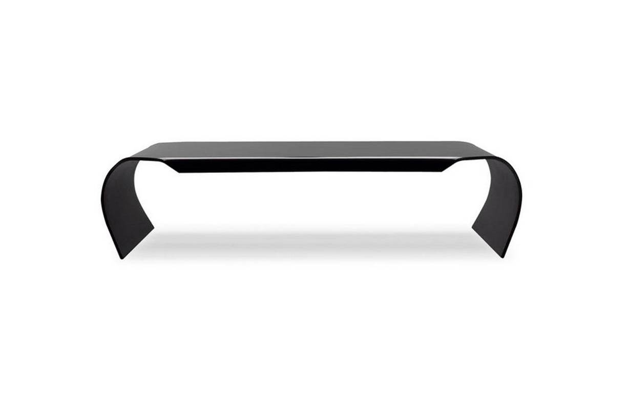 Table rabattable cuisine paris table basse noir en verre for Table basse noire design