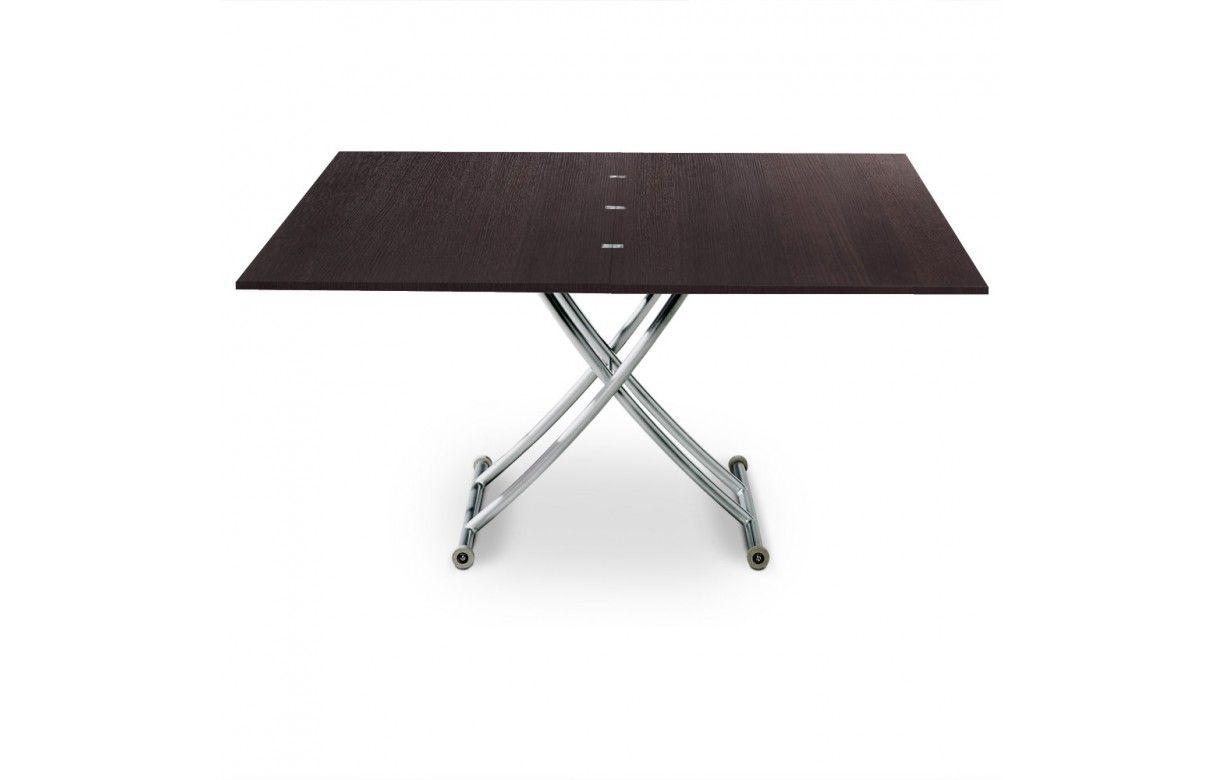 table basse relevable en bois brut weng ou vintage. Black Bedroom Furniture Sets. Home Design Ideas