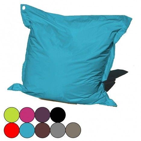 Coussin de sol pouf g ant 9 coloris bigmoon decome store for Gros coussin de sol exterieur