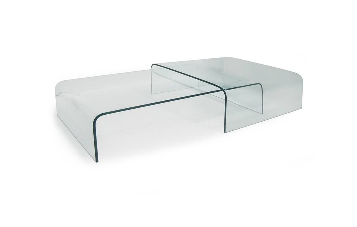 Table basse en verre design haut de gamme for Table basse verre design