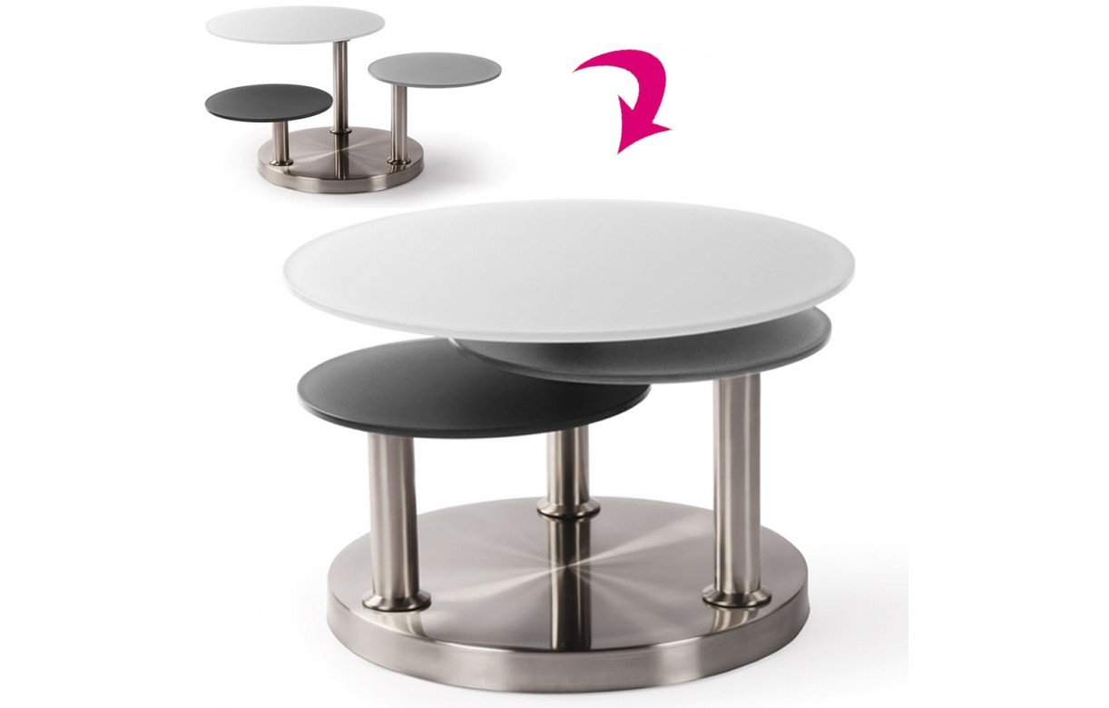 Table basse de salon verre trempe - Tables basses design en verre ...