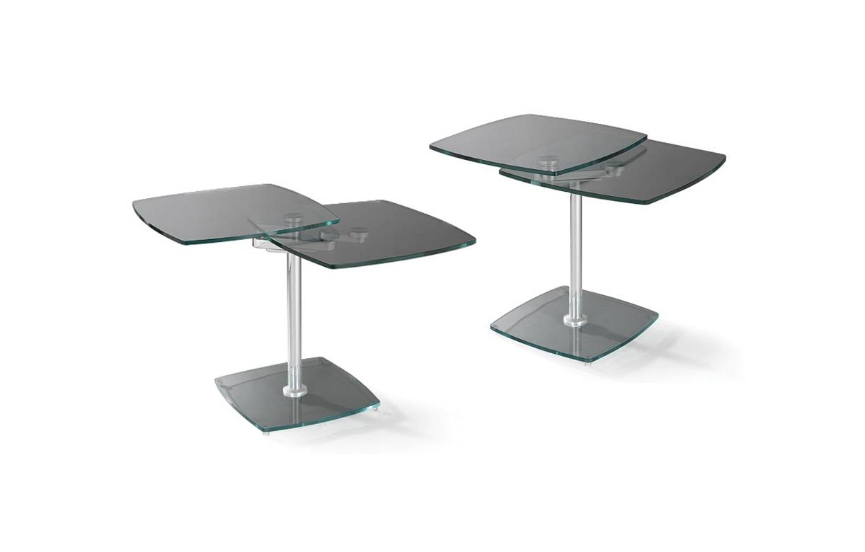 Table basse verre fume gris - Table basse verre fume ...