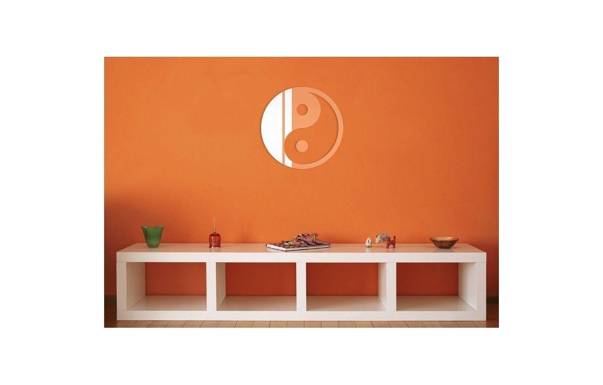 Miroir symbole chinois yin yang d co zen 3 dimensions for Miroir store