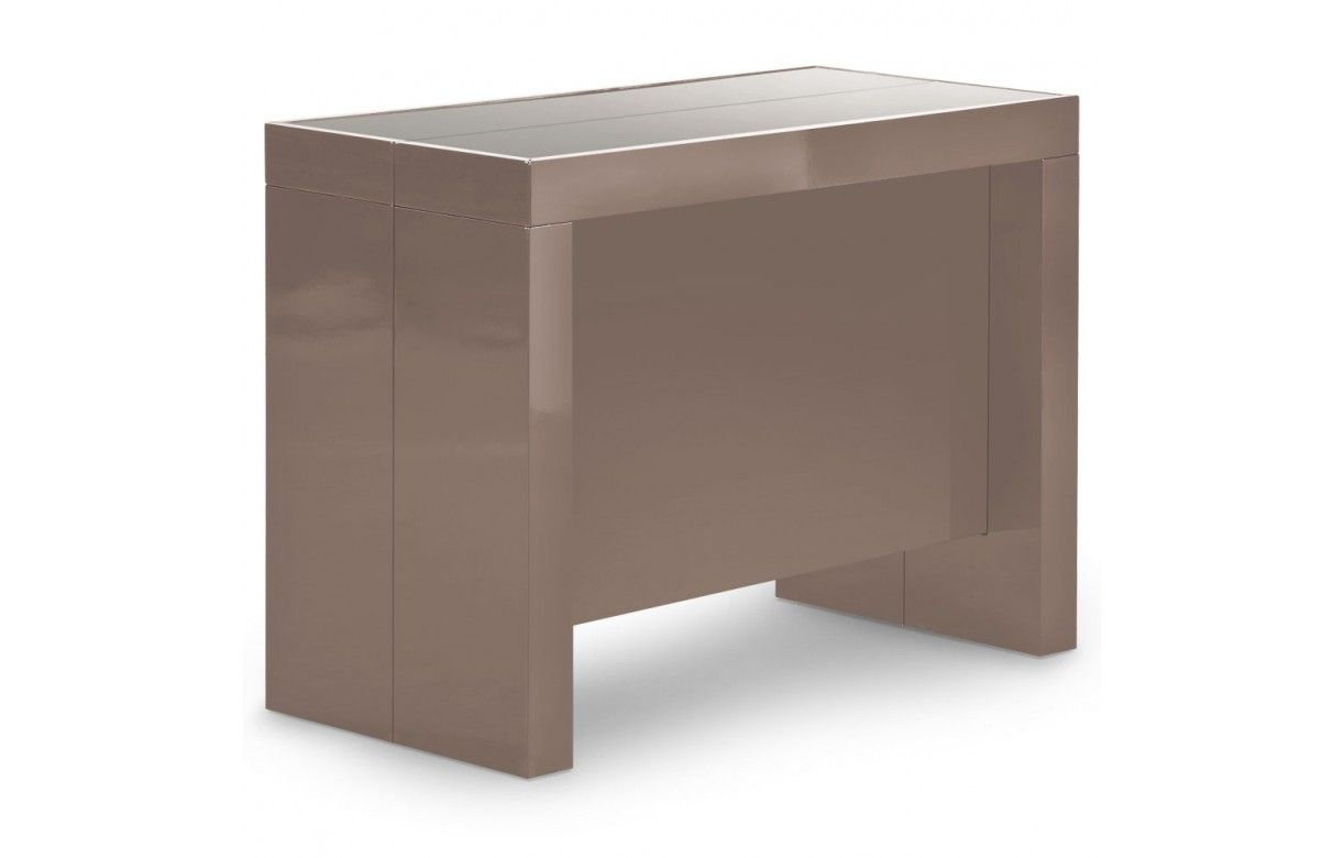 Console extensible avec rallonges int gr es pandora 5 for Table sejour extensible design