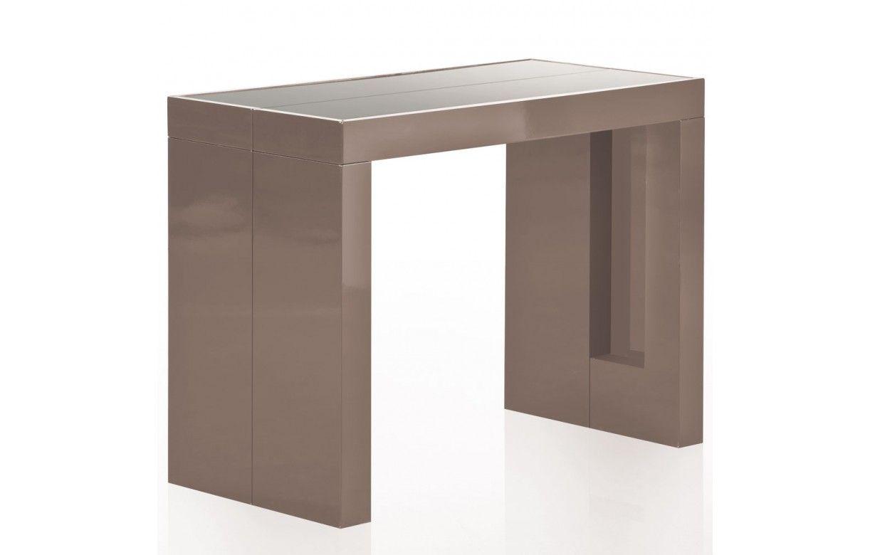 D coration table console pliable 15 rustic console - Tables avec rallonges integrees ...