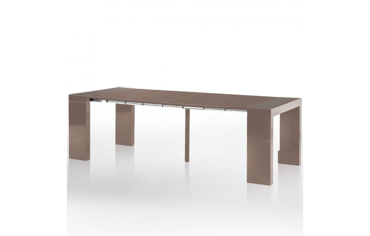 Table console extensible 5 rallonges conceptions de - Table console extensible avec rallonges integrees ...