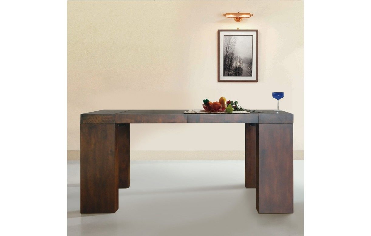 but console extensible table console extensible with but. Black Bedroom Furniture Sets. Home Design Ideas