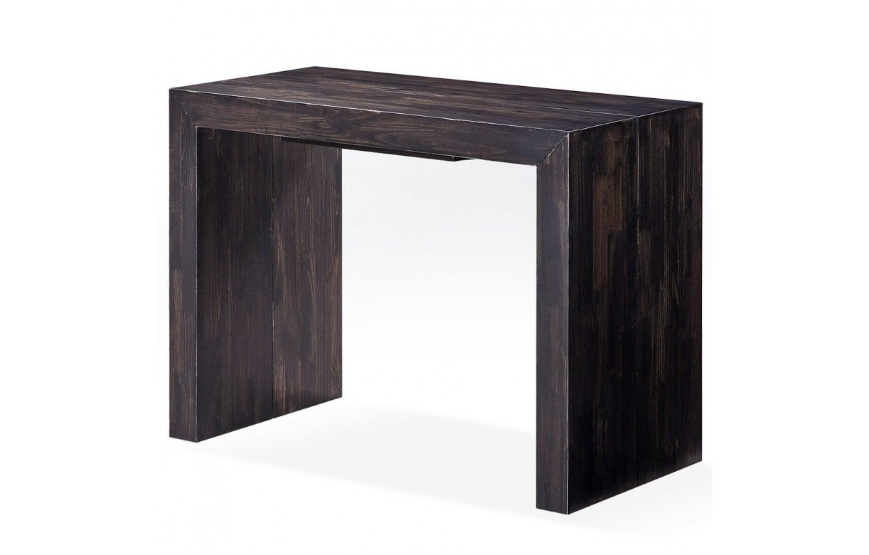 Console bois extensible - Table extensible 20 couverts ...