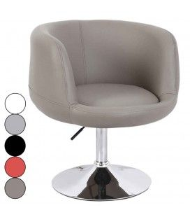 Fauteuil design en simili cuir réglable Fury - 5 coloris