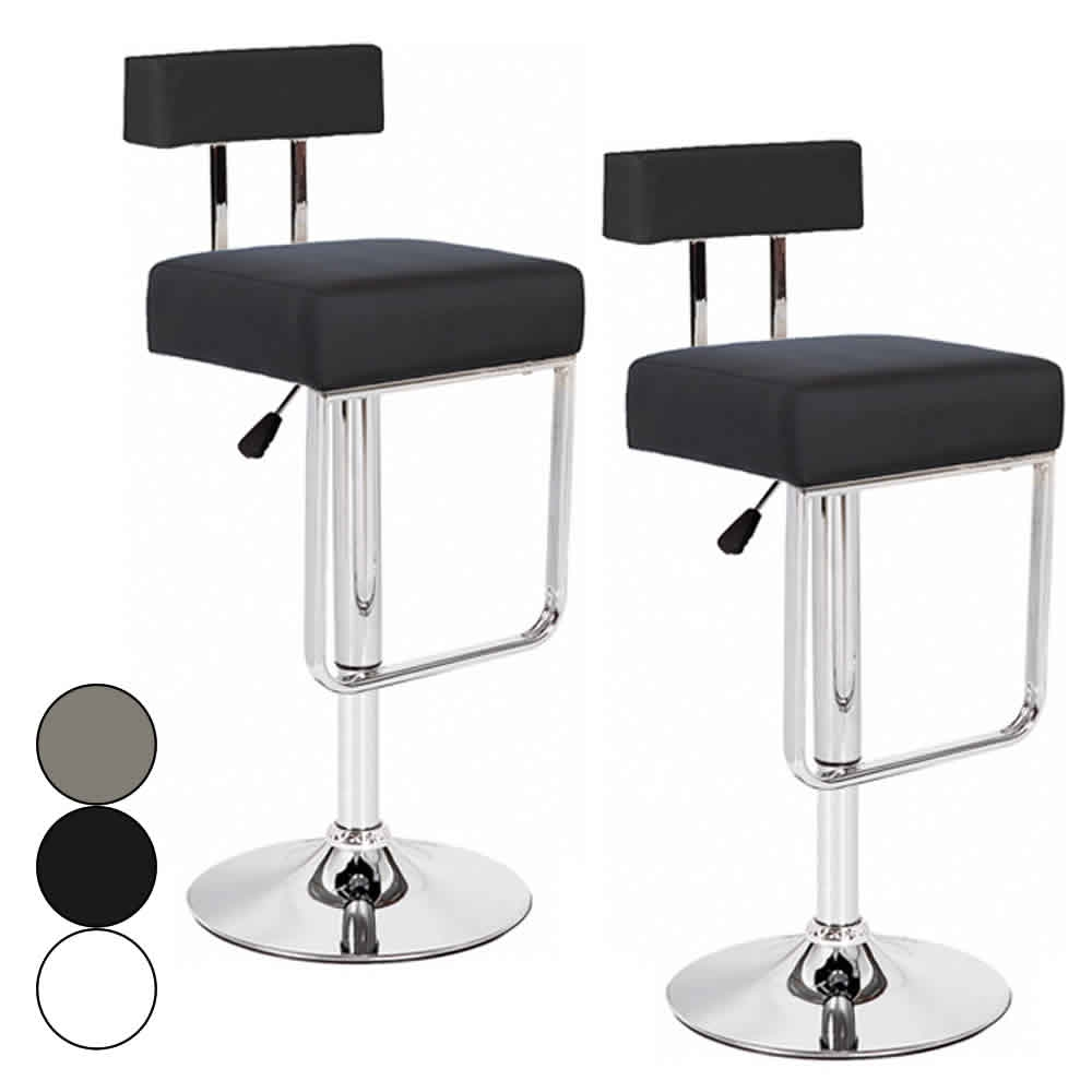 tabouret bar simili cuir. Black Bedroom Furniture Sets. Home Design Ideas