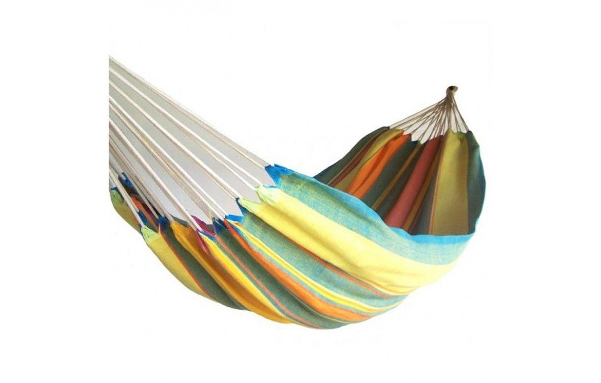 hamac multicolore en tissu 100 coton pour une ou deux personnes decome store. Black Bedroom Furniture Sets. Home Design Ideas