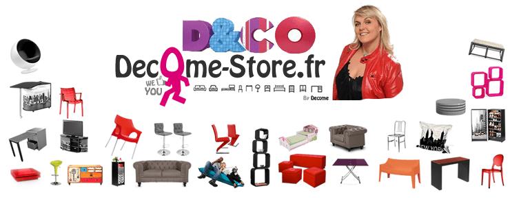 valerie Damidot et Decome store en partenaire M6 D&CO