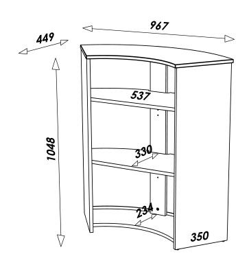 Comptoir de bar blanc ou noir tour eiffel decome store for Comptoir du meuble delson