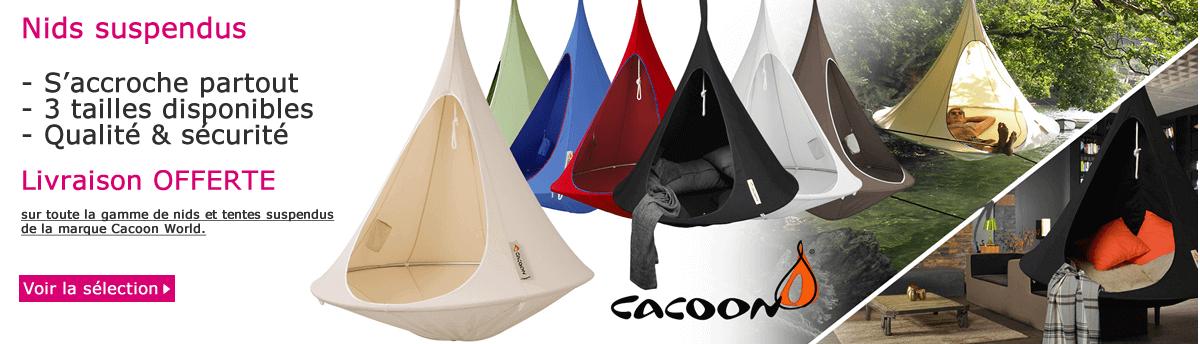 Nids suspendus Cacoon