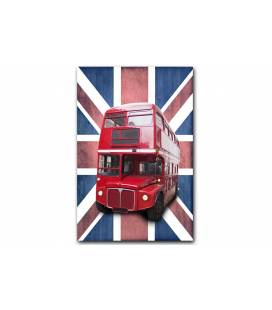 Tableau British London Bus 55x80 cm BUSLY