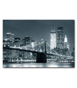 Tableau New York City by night 80x55 cm NEWY