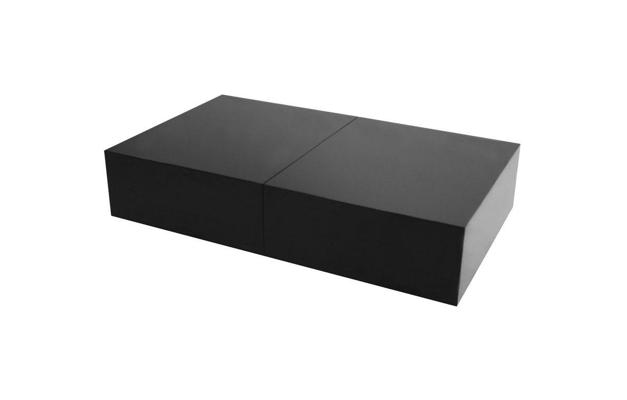 table basse design avec rangement coffre coulissant fanly 5 coloris decome store. Black Bedroom Furniture Sets. Home Design Ideas
