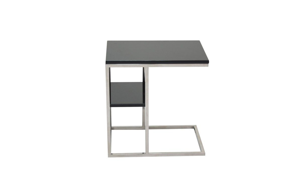 table d 39 appoint en acier inox poli et plateau en bois flary 4 coloris decome store. Black Bedroom Furniture Sets. Home Design Ideas