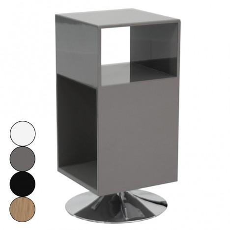 Métal Design Et Chevet Rangements 4 Fridy De Coloris Avec Pied Table 3ucTK1J5lF