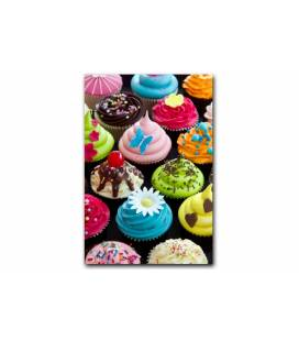 Tableau Gourmand Cupcakes tentation 55x80 cm CUP