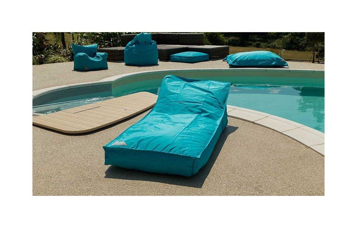 pouf gant transat bain de soleil sofoon 11 coloris - Fauteuil Bain De Soleil