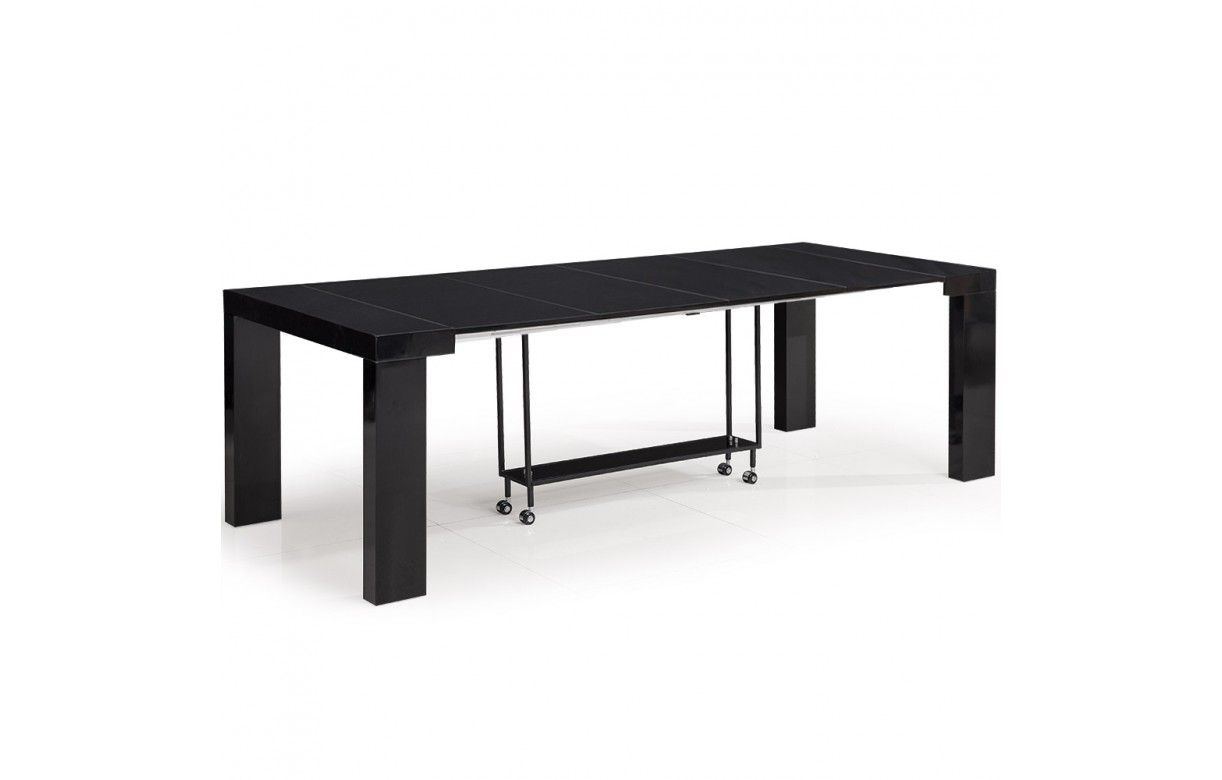 Table console extensible 12 places castilla 4 coloris for Table 4 places