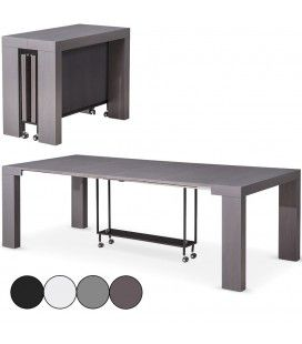 Table console extensible 12 places Castilla - 4 coloris -