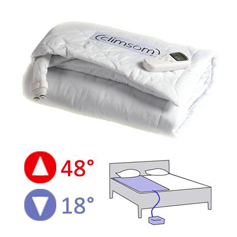 Matelas climatisé ou chauffant 1 personne CLIMSOM -