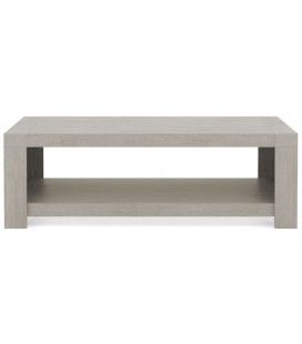 Table basse en bois taupe Acacy