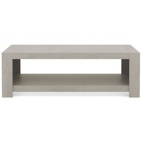 Table basse en bois taupe Acacy -
