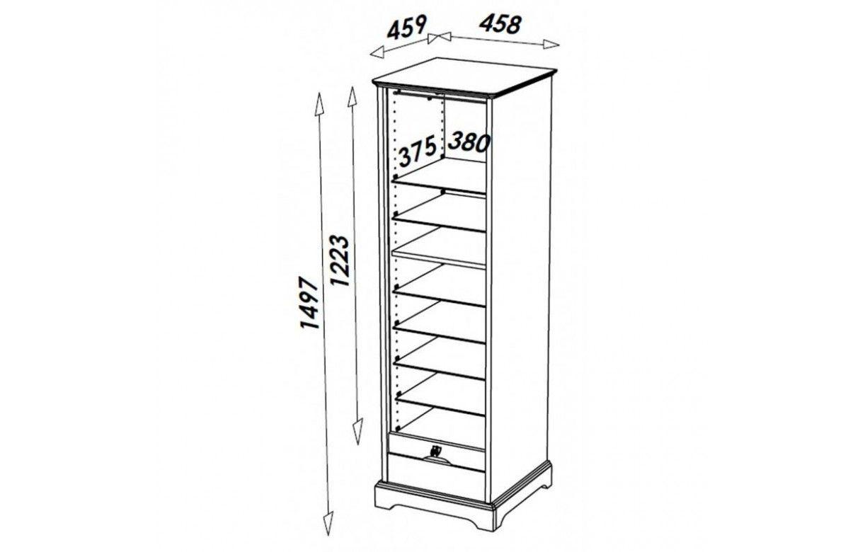Rangement de bureau rideau d roulant en bois merisier for Meuble a rideau bureau