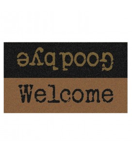 Paillasson welcome goodbye 40 x 70 cm -
