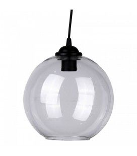 Suspension boule en verre diam 22 cm Boly