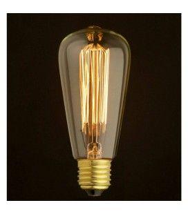 Ampoule décorative cône design style Edison 60W