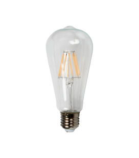 Ampoule LED décorative 6,4cm cône 8W (75W) -