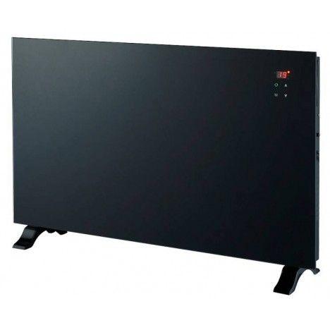 Radiateur electrique design noir écran LCD -