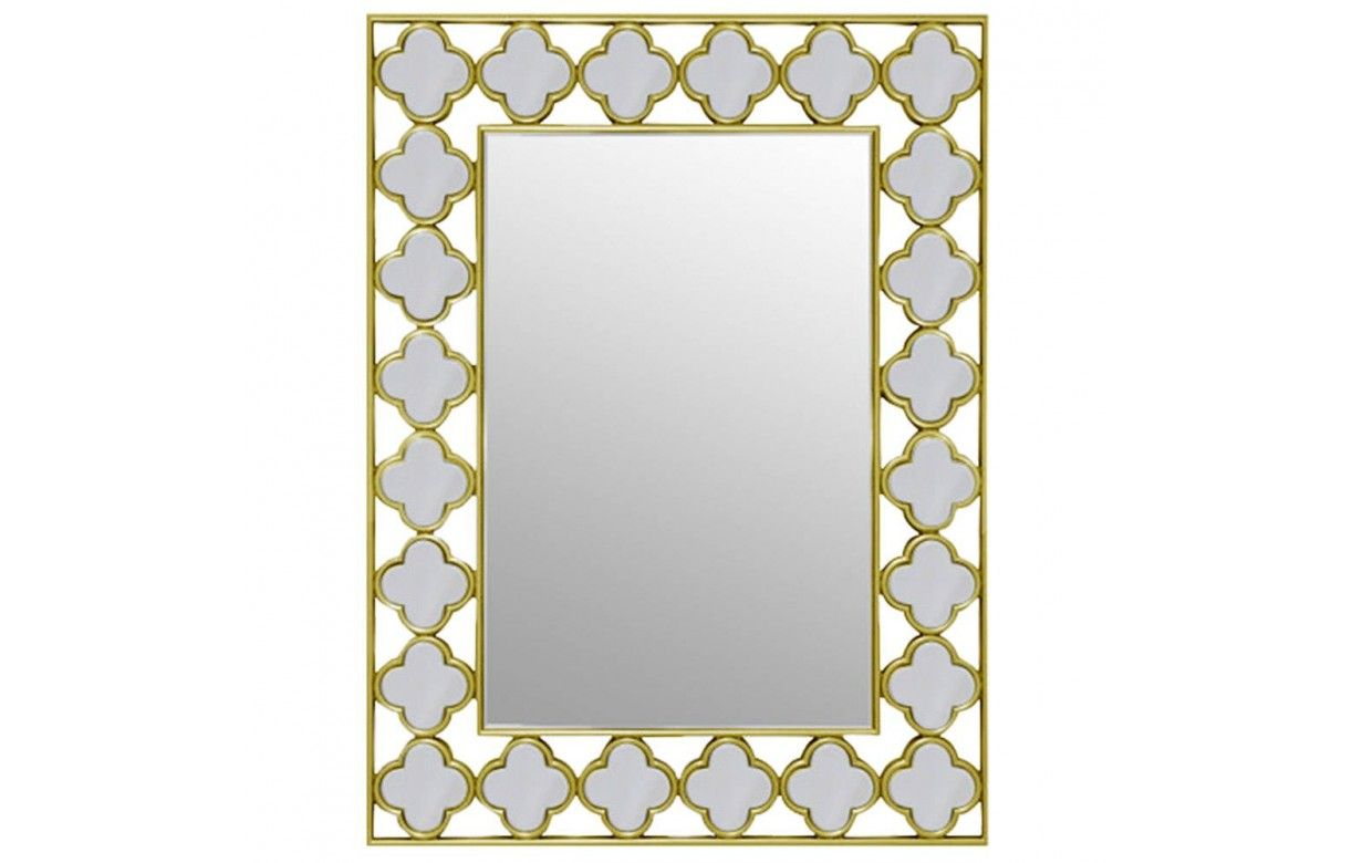 Miroir design avec cadres en tr fles for Miroir cadre