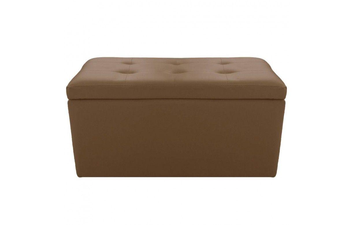 banquette avec rangement coffre en simili cuir. Black Bedroom Furniture Sets. Home Design Ideas