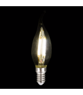 Ampoule LED décorative 3,5cm flamme 4W (40W) -