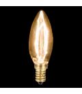 Ampoule décorative flame design style Edison 60W -