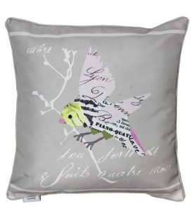 Coussin 40 x 40 cm Birdy Taupe -