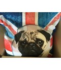 Pouf géant 140x140 cm Bulldog LONDON -